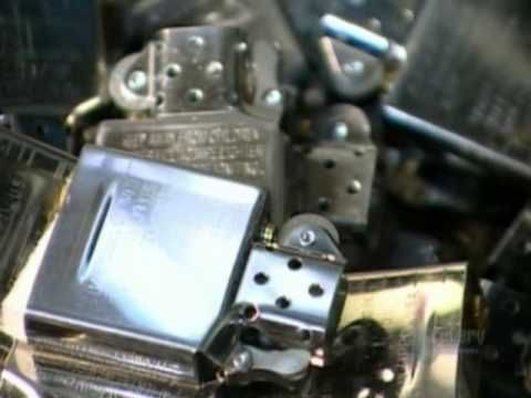 No Copyright infringement intended! ©Discovery Season 07, Episode 03, # 81, Segment A: Lighters Narrated by: Lynne Adams A look inside Zippo's factory, makin...