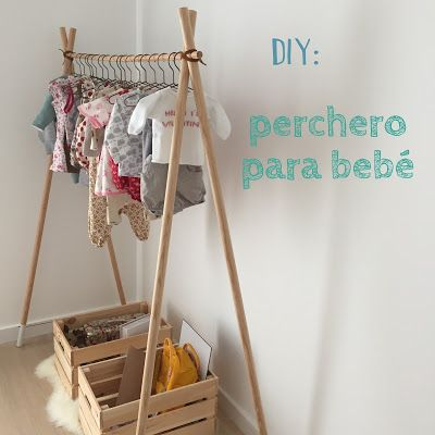 Estoreta Quotidien: DIY: Un perchero para los peques! + SORTEO Instagram