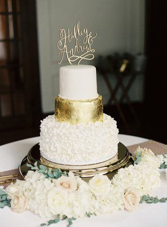Best Gold Square Wedding Cakes Ideas Only On Pinterest