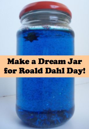 Is it a Phizzwizard or Trogglehumper? Make a dream jar #TheBFG #RoaldDahl