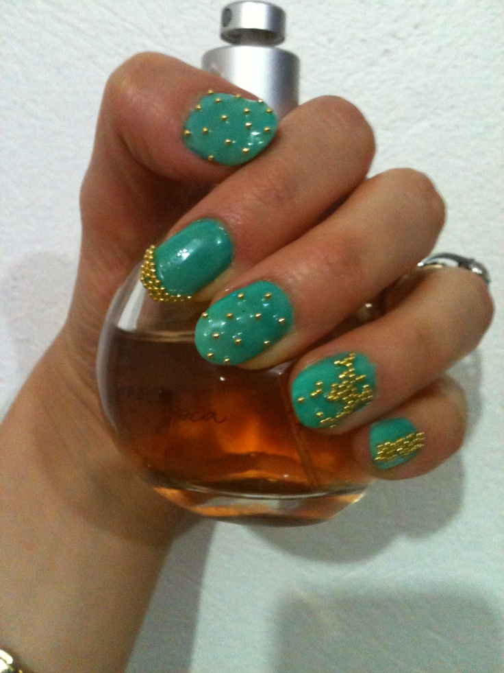 My new nails , so happy I got them :)