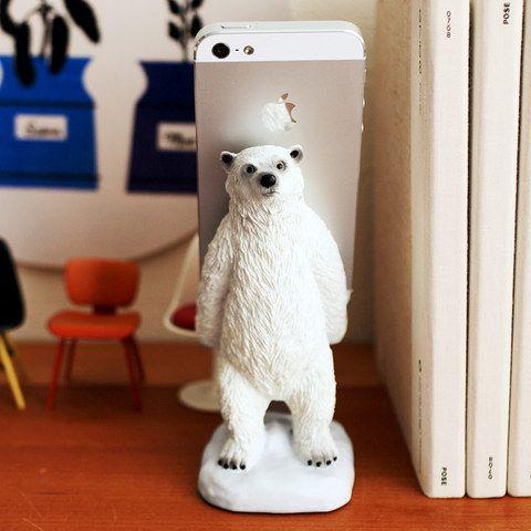スマートフォンスタンド(polarbear)