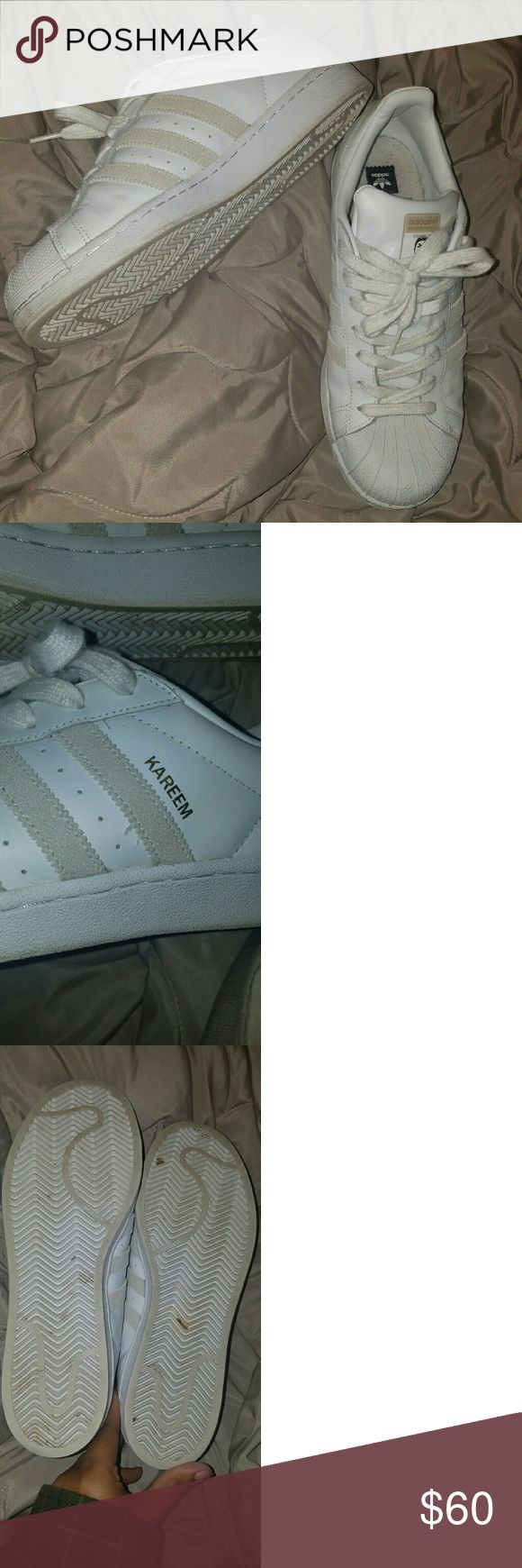 Mens Sz 10 ADIDAS Kareem Campbell Superstar Mens Sz 10 Adidas Kareem Campbell Superstar skateboarding sneaker, GUC (worn a few times)  non smoking no pet home,  additional pics avail if wanted Adidas Shoes Sneakers