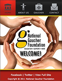 http://www.gaucherdisease.org/    Gaucher disease can affect anyone.