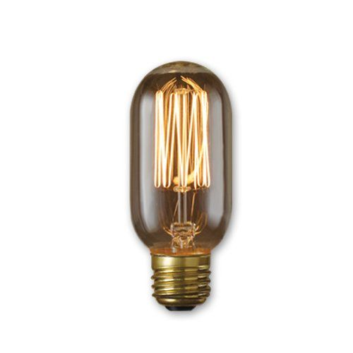 Bulbrite NOS40T14/SQ 40-watt Nostalgic Incandescent Edison T14 with Vintage Thread Filament and Medium Base, Warm White, Pack of 1 Bulbrite http://smile.amazon.com/dp/B006G31Y0U/ref=cm_sw_r_pi_dp_wXkWtb1DBVR6BQF2