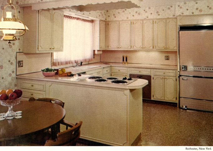 Enjoy this gallery of 1960s kitchens, bathrooms & more. INSTRUCTIONS: Click on the first image to launch the slide show, all images will show larger.