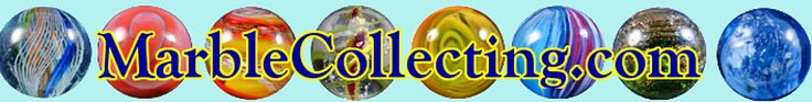 Online Marble Identification Guide This is an online version of Marbles: Identification and Price Guide. Don't forget, this site will also display on mobile devices (smartphones, iPads, etc.) in a native form. So, you can take the Guide wherever you go!