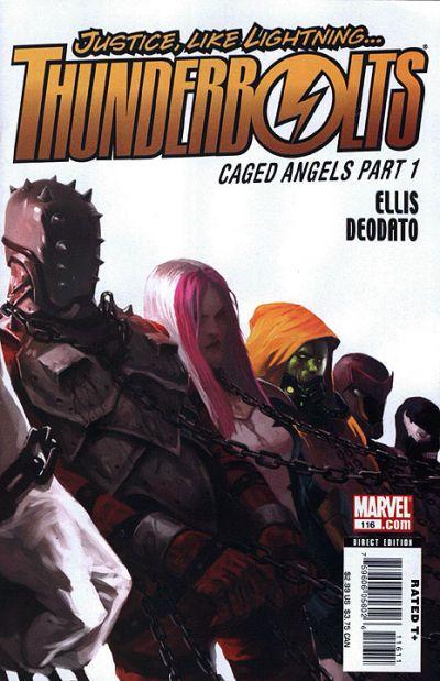 Thunderbolts Vol. 2 # 116 by Marko Djurdjevic