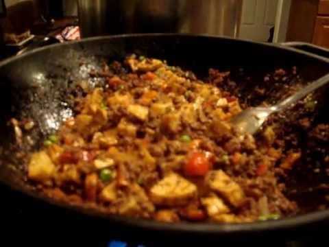 Mexican Picadillo Recipe (also known as Hash or Filling) (receta para picadillo) - YouTube