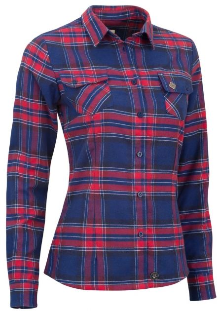 Flannel Ladies´ Peacoat