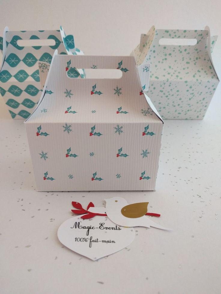 Lot de 10 boites cadeaux pour invité - décoration table de fêtes : Cadeau de remerciement par magic-events