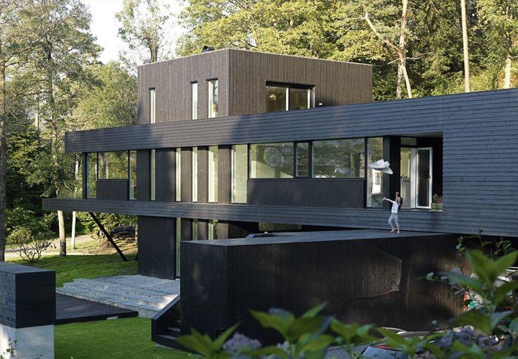 ... Arkitektur Hus på Pinterest  Moderna hus, Modern arkitektur och