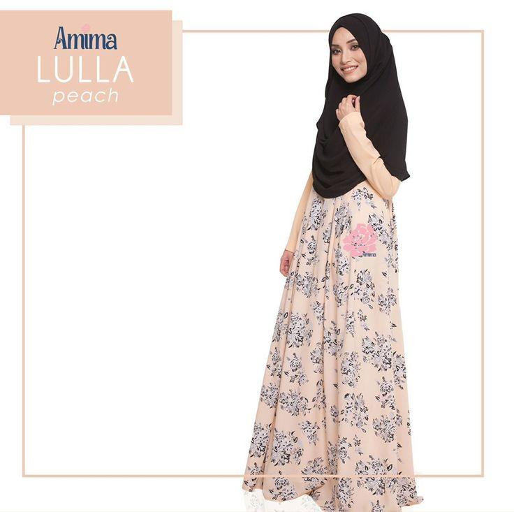 Gamis Amima Lulla Dress Peach - baju muslim wanita baju muslimah Untukmu yg cantik syari dan trendy . . Size:  XS ---> LD 92 P 135 S ---> LD 96 P 137 M ---> LD 100 P 139 L ---> LD 104 P 141 XL ----> LD 112 P 144 . . - Material bahan : crystal crepe hq printing for amima (dengan furing katun arrow lembut)  crepe polos  Nyaman digunakan seharian bahannya jatuh dan flowy - Dress yang simpel cocok untuk daily - acara formal potongan bawah dada dengan warna soft pastel - Bagian badan dress polos…