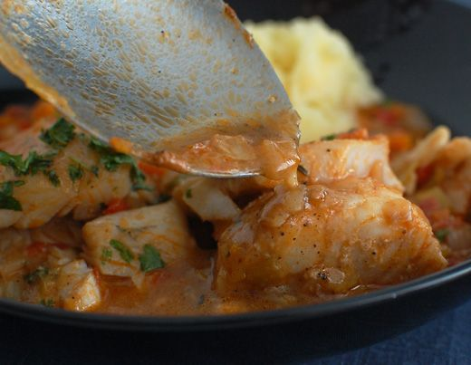 Fish in aromatic spices