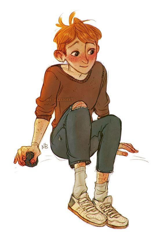 Ron Weasley by atalienart