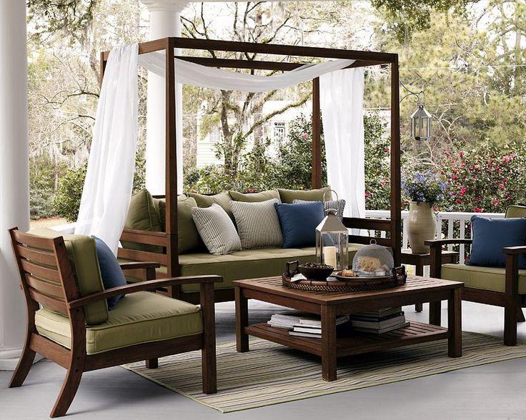 59 besten Terrasse Bilder auf Pinterest Verandas, Dachterrassen - Sofa Im Garten 42 Gestaltungsideen Fur Gemutliche Sitzecken Im Freien