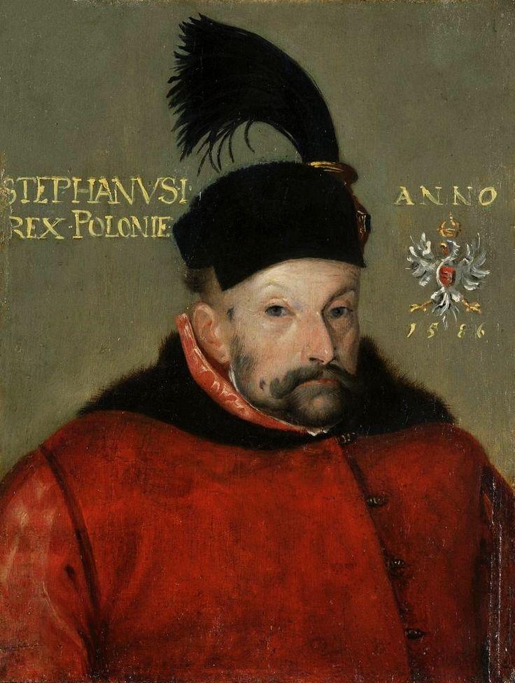 Portrait of Stephen Báthory by circle of Martin Kober, 1586 (PD-art/old), Zamek Królewski na Wawelu