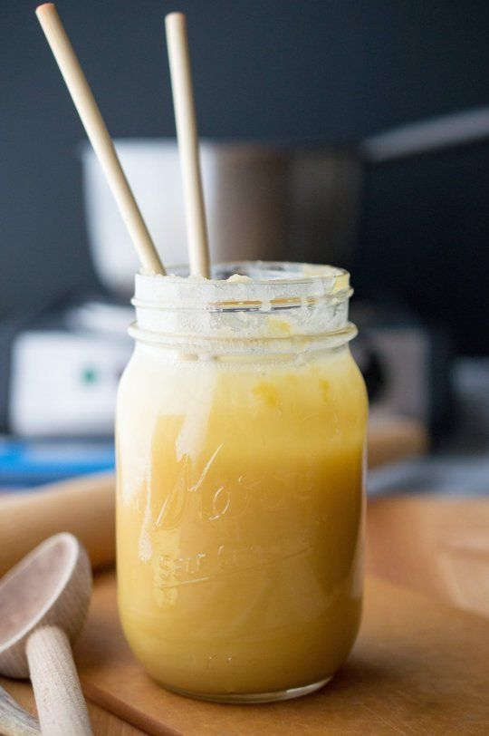 How To Make Spoon Butter or Cutting Board Cream Out of Beeswax & Sunflower Oil Via @thekitchn