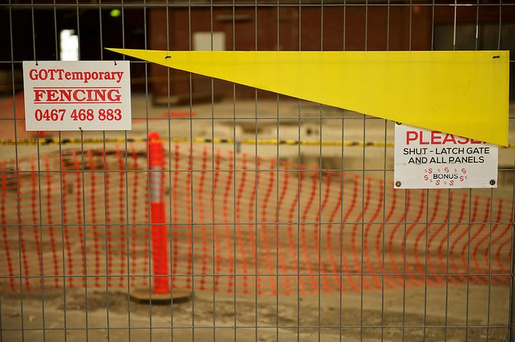 'GOTTemporary FENCING'