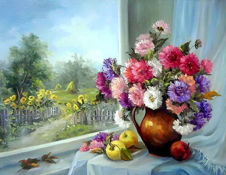 цветочные натюрморты в живописи картинки: 18 тыс изображений найдено в Яндекс.Картинках