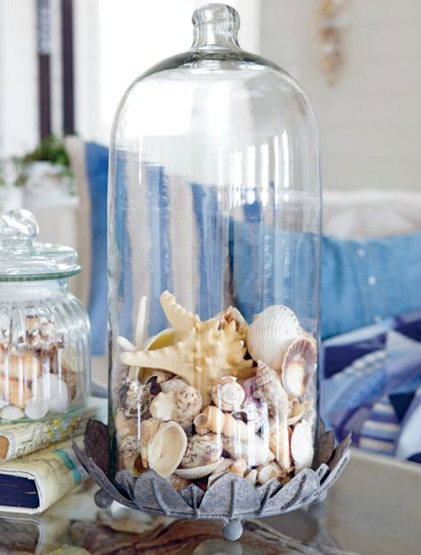 Seashell Decor Ideas From The Book The Nautical Home By Anna Rnberg