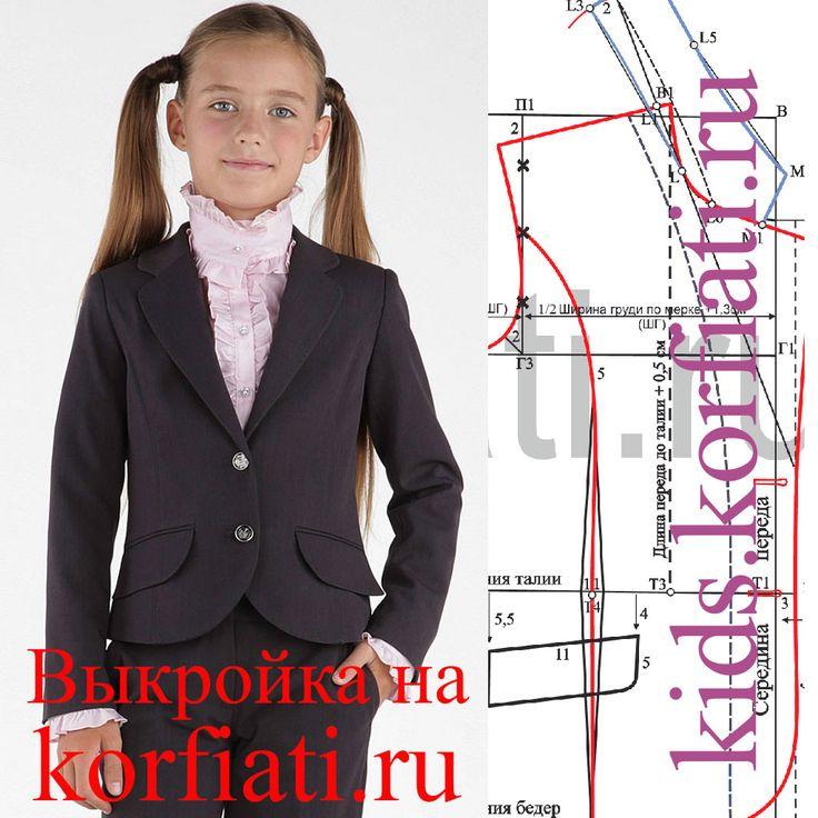 Chaqueta Modelo para niñas de Anastasia Korfiati