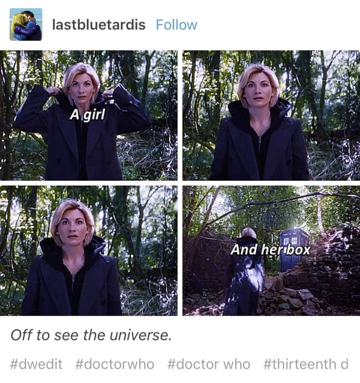 Doctor Who 13th Doctor Thirteenth Doctor Jodie Whittaker << I don't know about anyone else, but I'm really excited about this! This is uncharted territory for Doctor Who. I'm interested to see how this goes.
