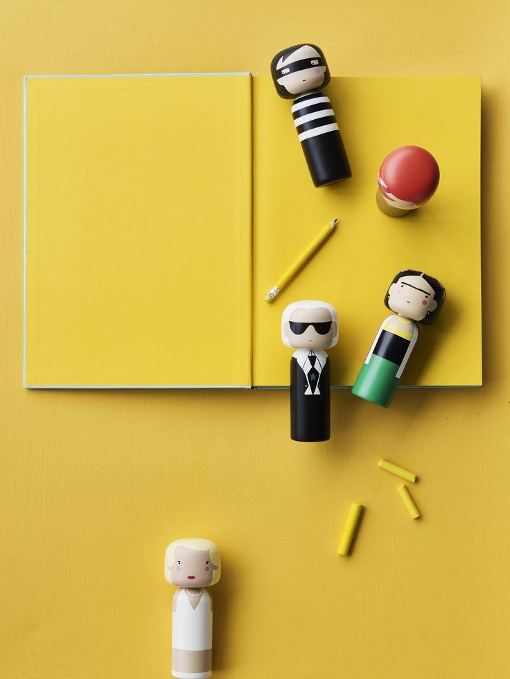 Sketch.inc Kokeshi Dolls  /  Lucie Kaas