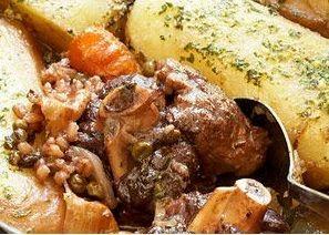 Boerekos met 'n Twist: Marokkaanse Lamskerrie / Maroccan Lamb curry