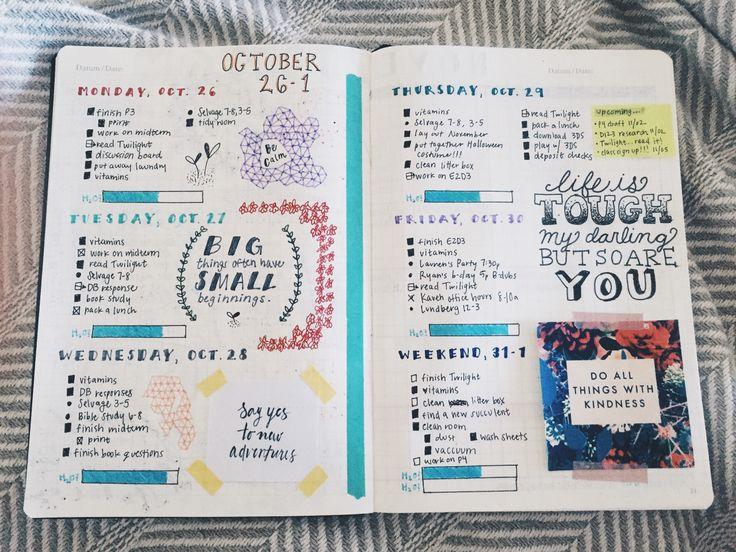 studytildawn:   11/01 • This week so far! I'm... - The Organised Student