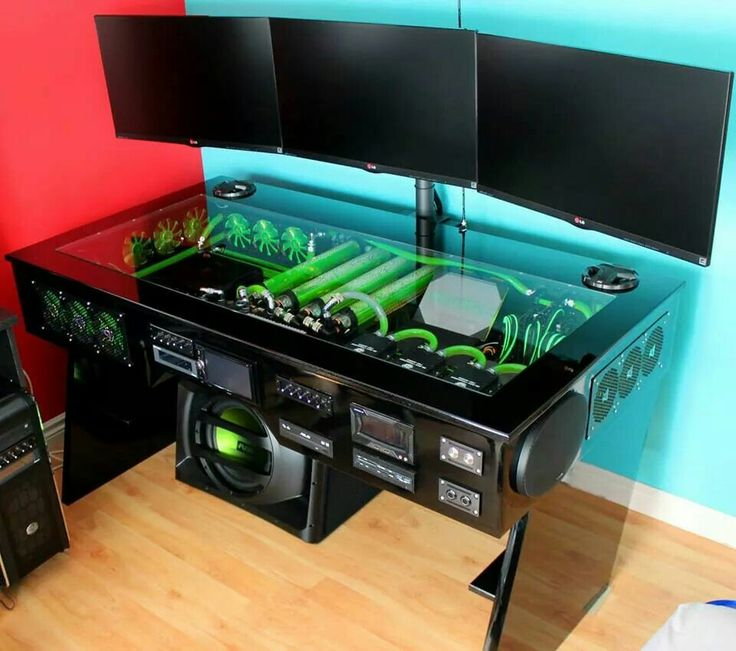 Computer desk mod ideas on Pinterest | Mean machine, Diy computer desk