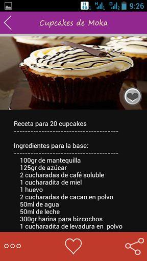 Fácil receta de la magdalena que se puede hacer en diferentes-con sabor a pasteles cambiando ingredientes.<p>Húmedo, magdalenas perfectas cada uno amará. Recetas con fotos y comentarios de pastelitos de vainilla, que hiela la magdalena, mini cupcakes y mucho más.<p>Cupcakes de Gin Tonic<br>Cupcakes de Whisky<br>Cupcakes de Moka<br>Cupcakes de Halloween<br>Cupcakes de San Valentín<br>Cupcakes de Té Verde<br>Cupcakes de Mojito<br>Cupcakes de Kiwi<br>Cupcakes de Baileys<br>Cupcakes de Nocilla y…