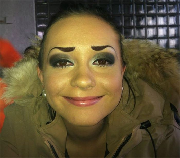 Best O Fotos Fotografadas Na Hora Exacta Images On - 28 hilarious eyebrow fails