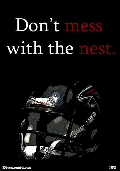 Atlanta falcons helmet portrait kids room mancave love by 83Bates