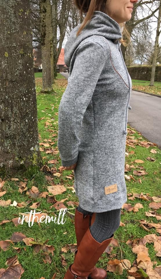 "Kleid ""Mathilda"" genäht von inthemill: http://www.kreativlaborberlin.de/schnittmuster/kleid-shirt-mathilda/"