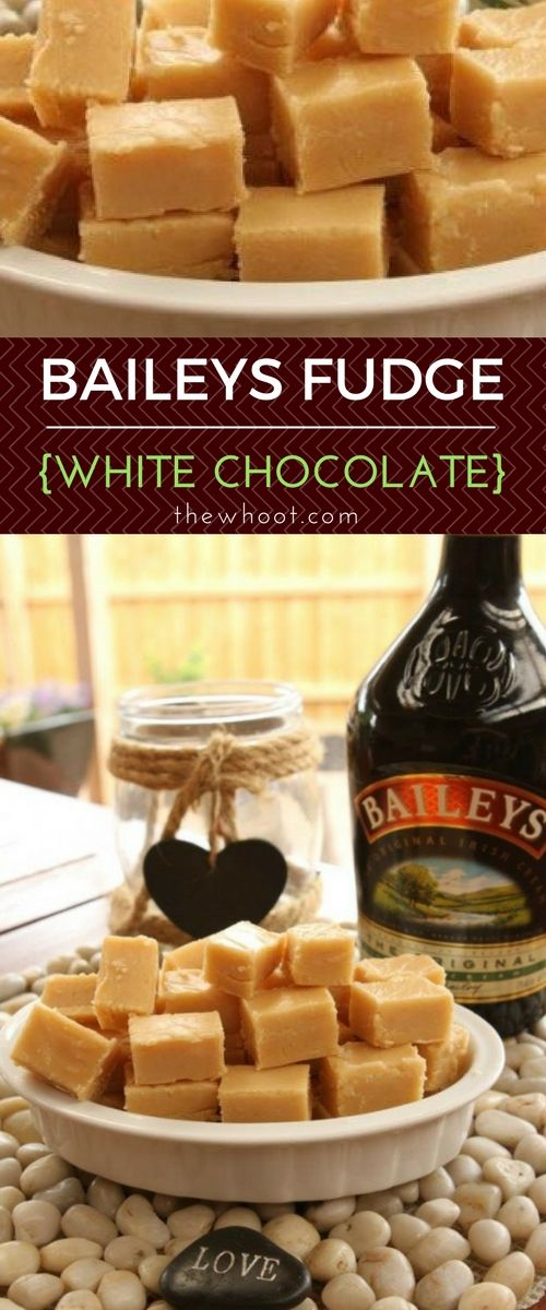 Baileys Irish Cream White Fudge Recipe