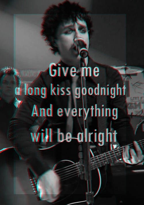 This is one of my favorites from American Idiot.