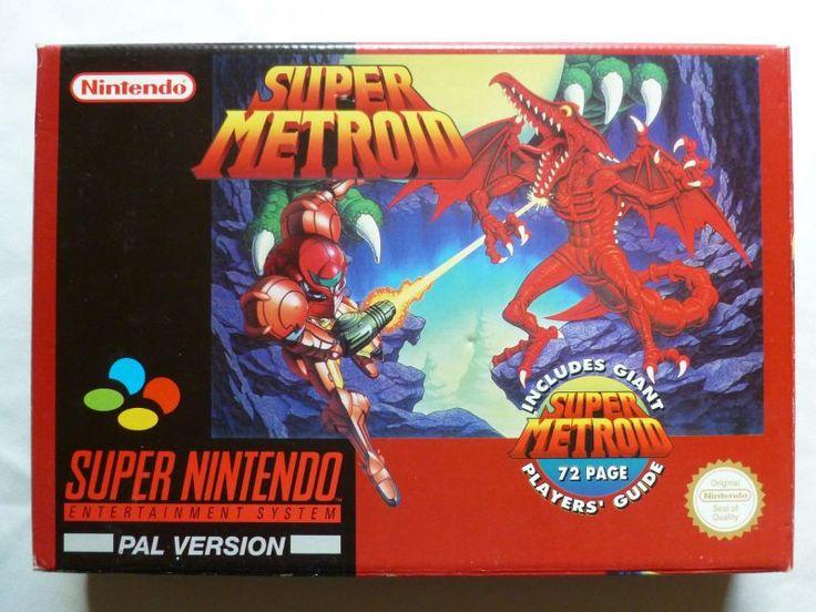 SNES - Super Metroid - PAL box-set