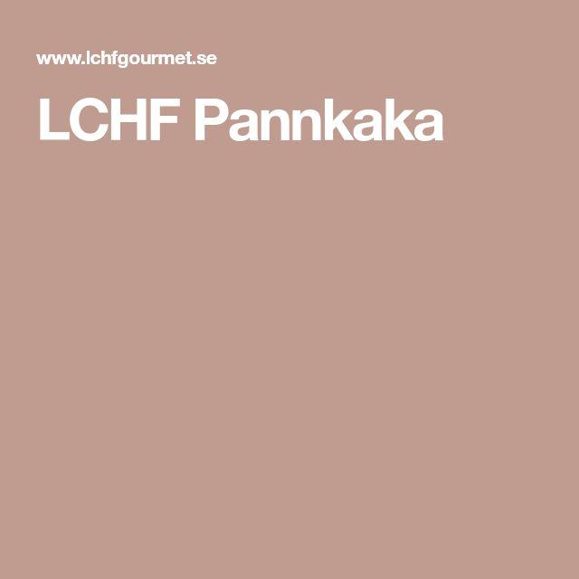 LCHF Pannkaka