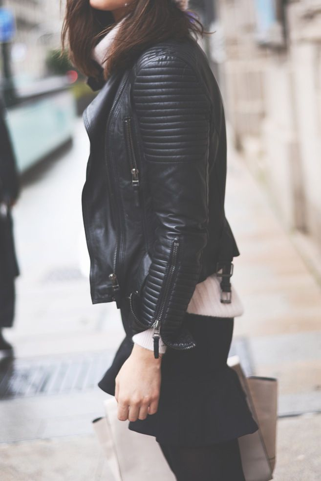Zara Biker Jacket - been on the wishlist for a LONG times.