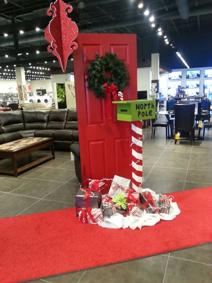 Www Christmas Ideas Decorations For Living Room: Great Decor Idea- North Pole Mailbox!