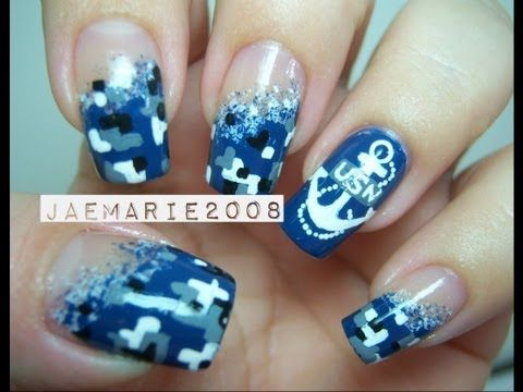 us navy nail designs | Best Nail Art Around the World 2 PlayList