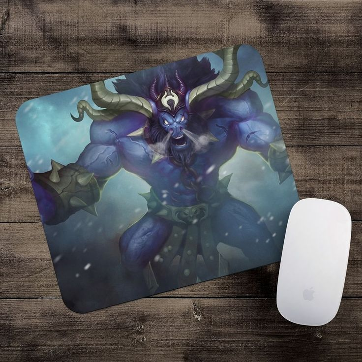 Unchained Alistar Mousepad League of Legends mouse pad LoL gamer playmat #UnbrandedGeneric