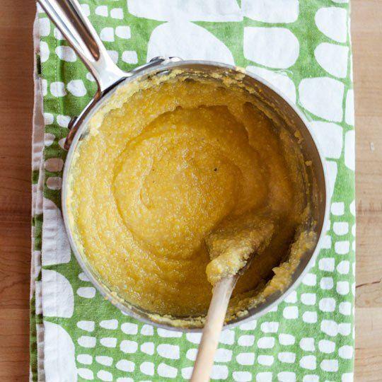 How To Make Creamy Stovetop Polenta - Good basic recipe !
