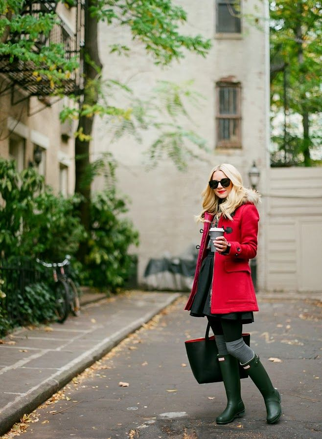 Atlantic-Pacific: little luxuries Hunter Boots