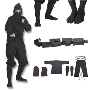 Show details for Shinobi Ninjutsu Stealth Ninja Uniform Gift Set