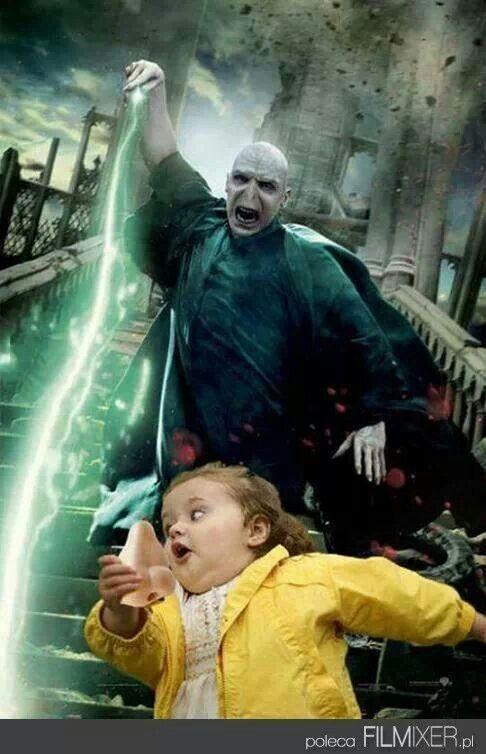 Voldemort's nose