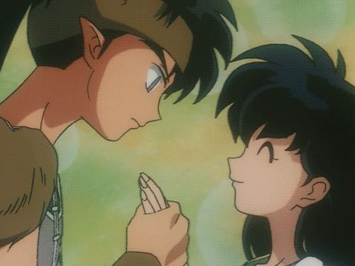 I love when inuyasha acts all jealous. So cute.