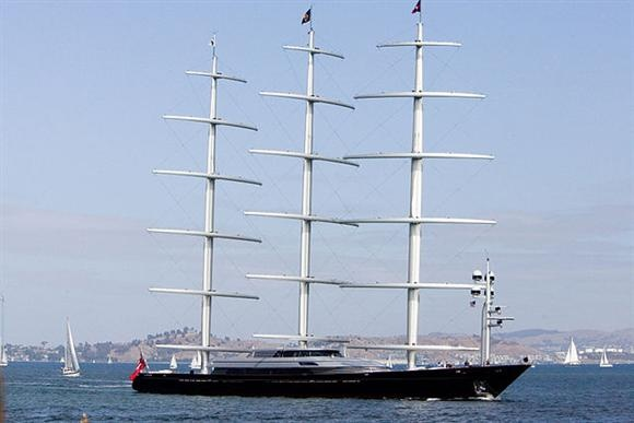 Maltese Falcon 120,000,000 Owner Elena Ambrosiadou, co
