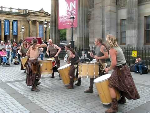 LOVE these guys,Scottish band,Clanadonia - Spanish Eyes  (Fringe Festival '09)